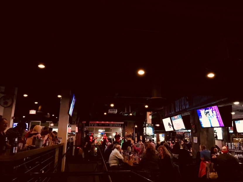 Sport Sticky Fingers at The Wild WingCafé